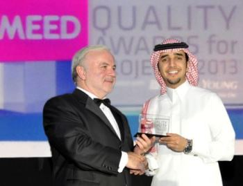 Dr.Sulaiman Al Habib receives the MEED